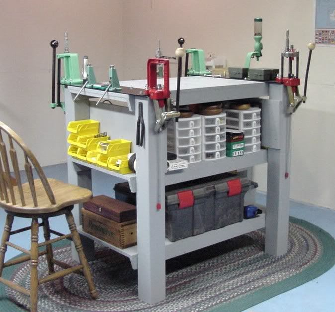 Reloading bench options the firing line forums for Apartment workbench plans