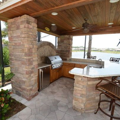 Outdoor Photos Outdoor Kitchens Patios Design Ideas, Pictures ...