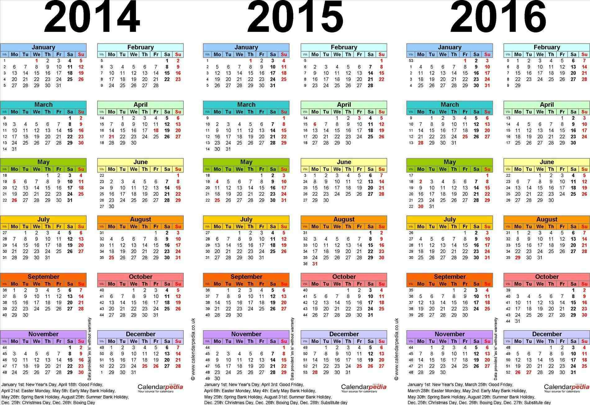 2014 15 Template Year Calendars For U Uk Word Calendar Calendar 2014
