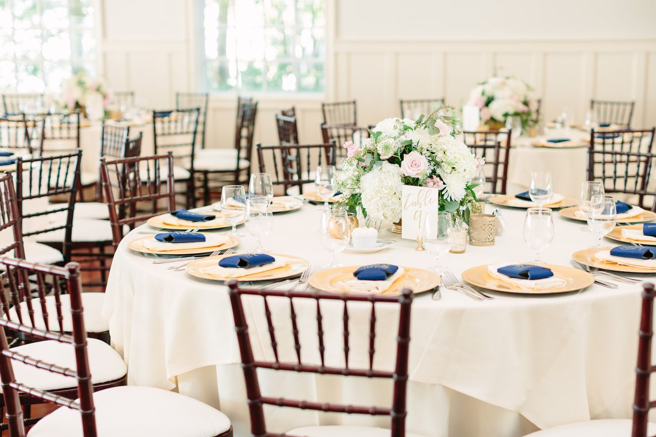 Wedding decoration ideas at the beach  Chesapeake Bay Beach Club Wedding by Lauren Myers Photography