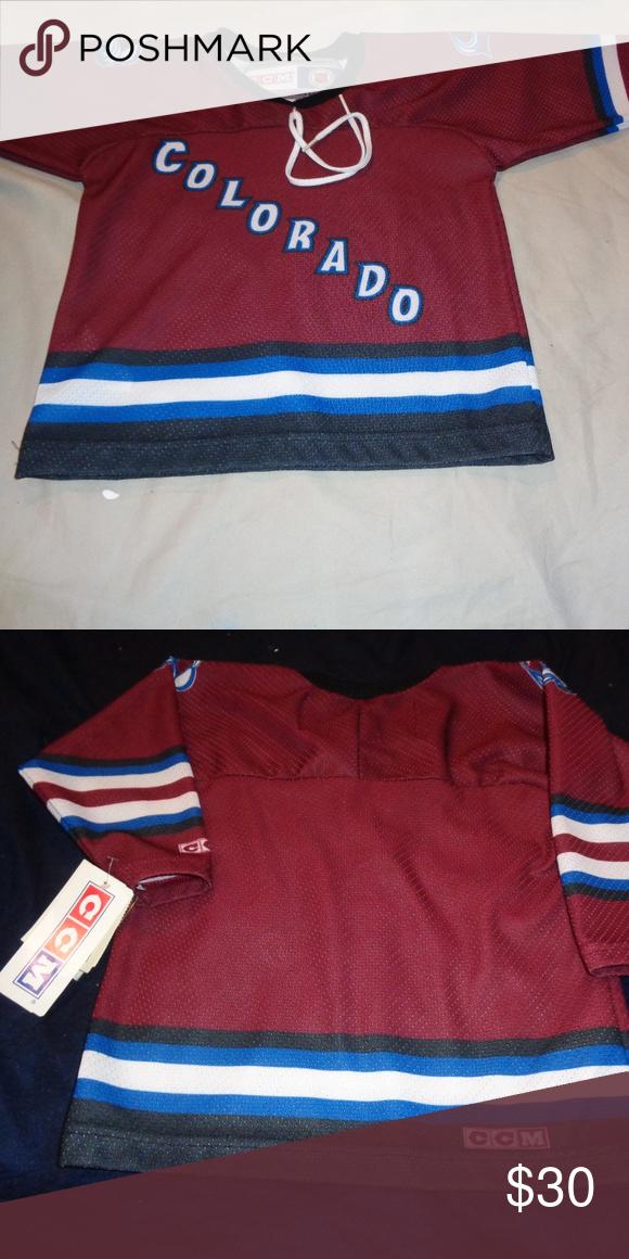 buy popular 5ade2 4f31c CCM Colorado Avalanche NHL Hockey Jersey Toddler CCM ...