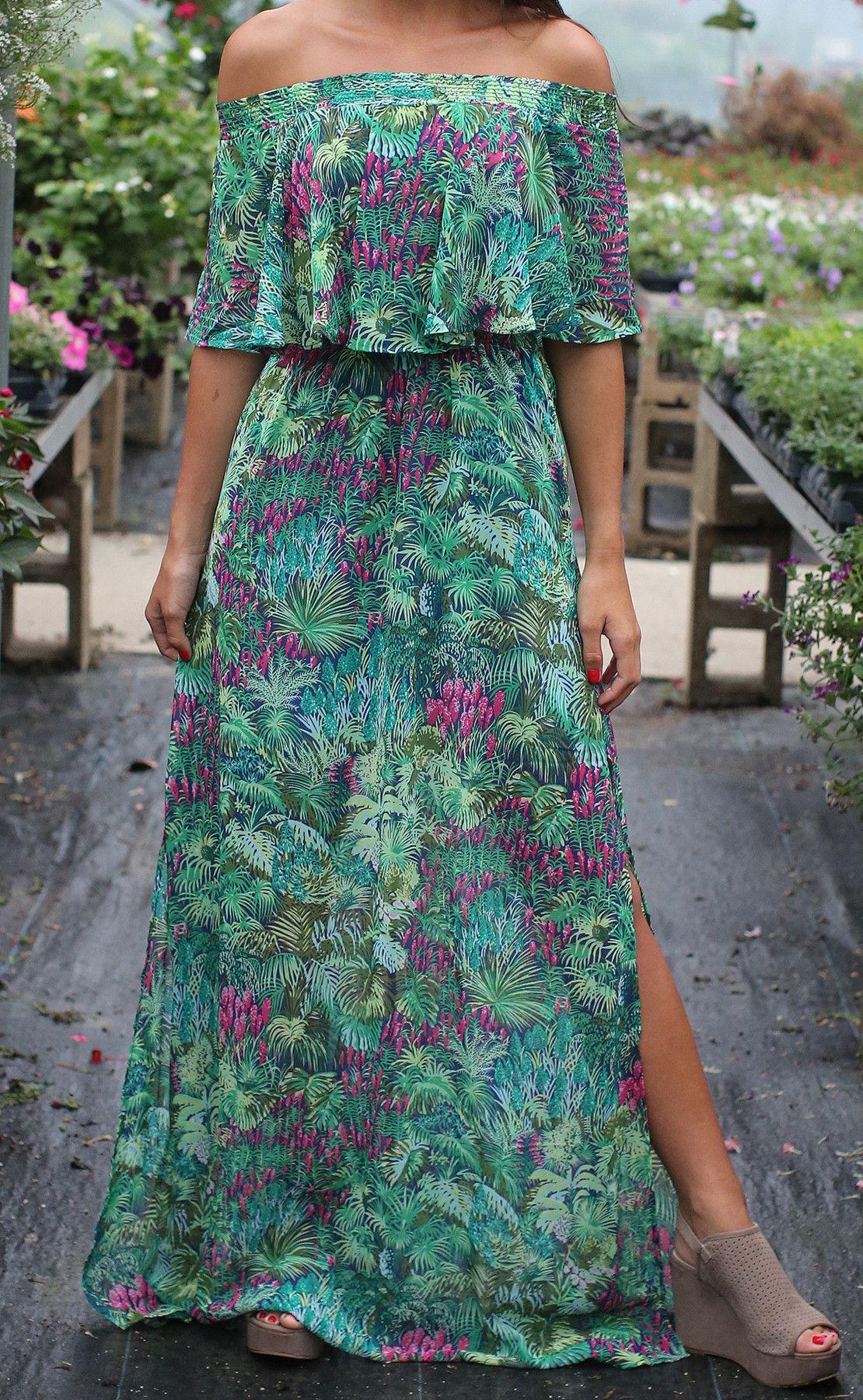 ab154861675 show me your mumu  hacienda maxi dress - rainforest cafe