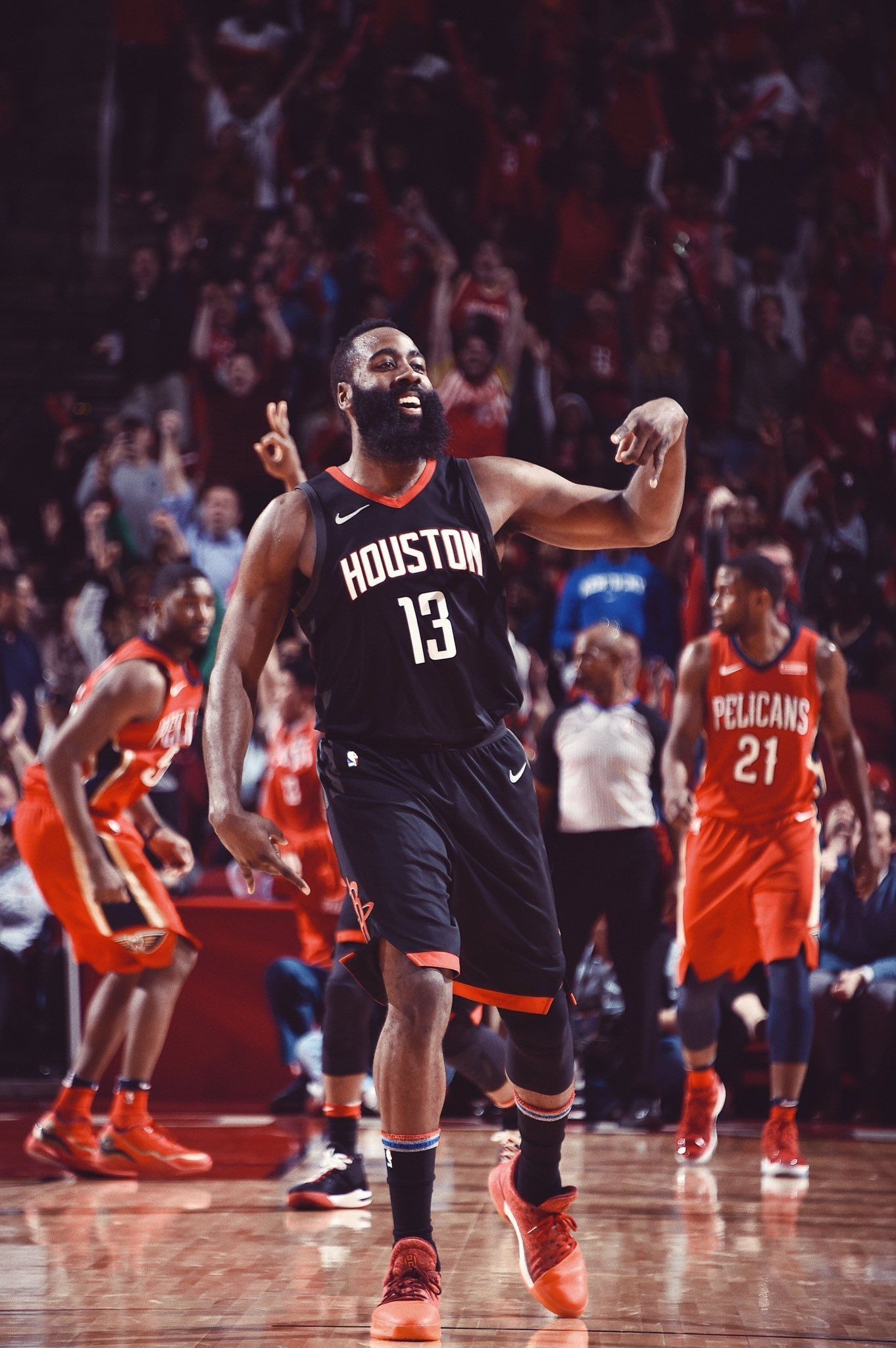 James Harden James Harden Houston Basketball Houston Rockets