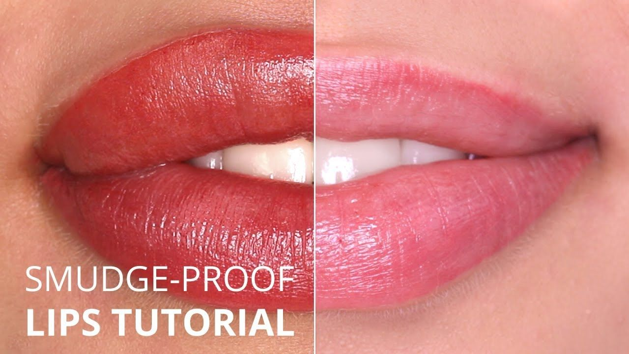"""""""Perfect Smudgeproof"""" Permanent Makeup lips TUTORIAL"""