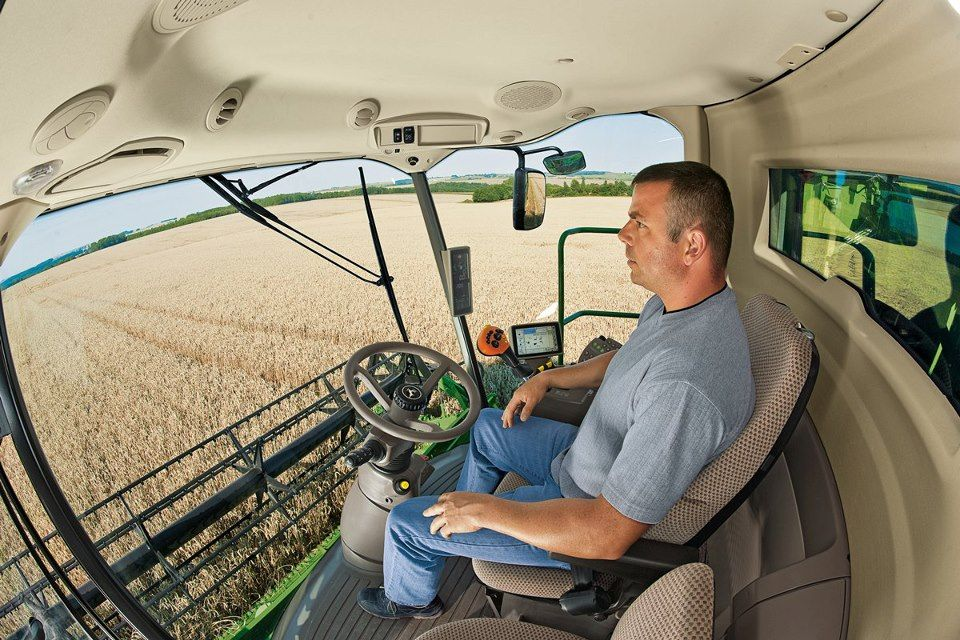 The Windows Inside The Combine Grant Maximum Visibility To The