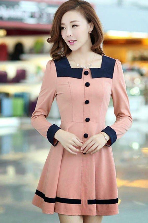 Atractivos vestidos de oficina | Modernos vestidos de moda de ...