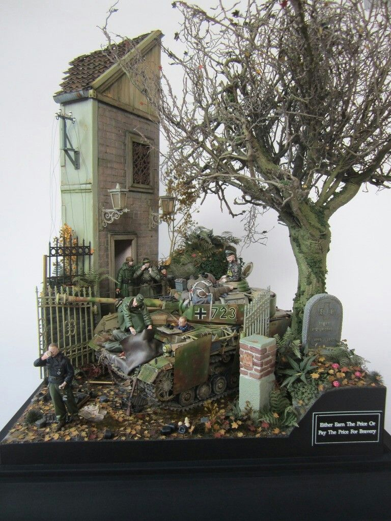 Pin by Truth Seeker on Diorama | Military diorama, Diorama