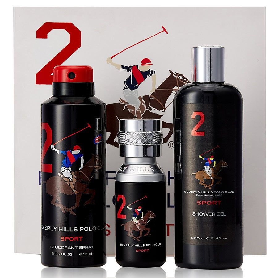 Buy BHPC Sports No 2 3 Piece Giftset for men online at