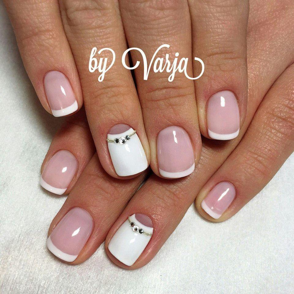 unique summer wedding nail art