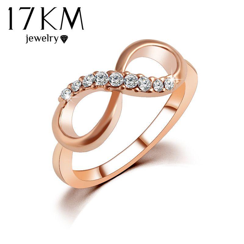 km nueva caliente mejor calidad anillo de circn joyera de moda de aleacin de oro