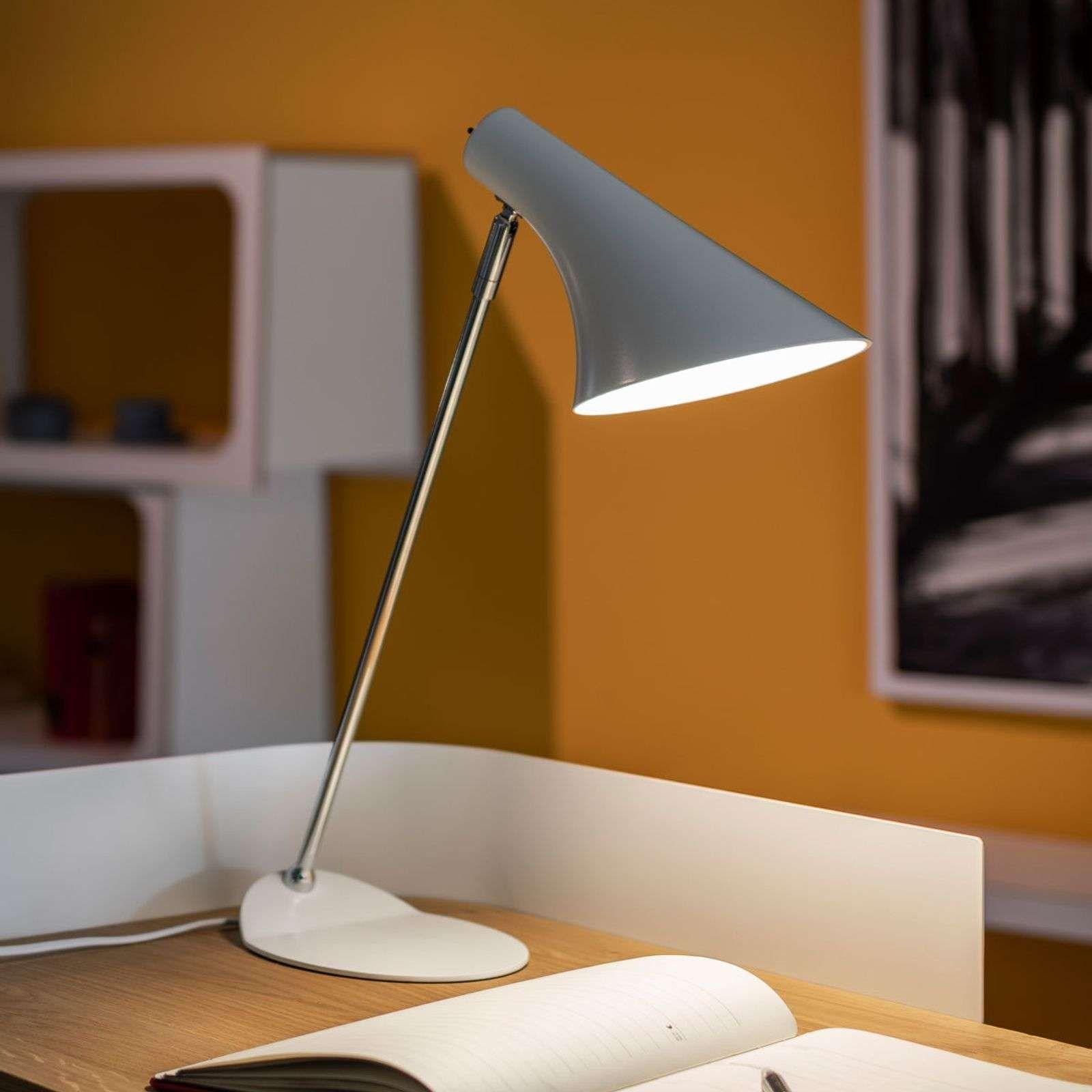 Lampe De Bureau Tendance Liam Blanche In 2020 Flexible Floor Lamp Table Lamp Desk Lamp