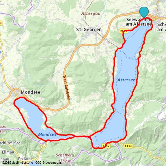 Attersee Mondsee Radtour im Salzkammergut in 2020 | Radtour