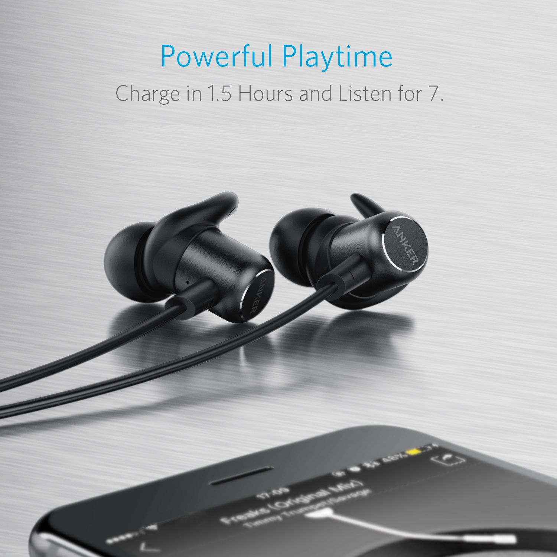 سماعات Soundbuds Slim المقاومة للماء من شركة أنكر Headphones Electronic Products Anker