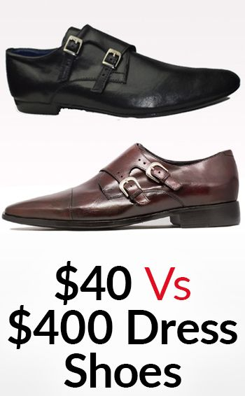 0c7aa386f Differences Between  40 And  400 Dress Shoes