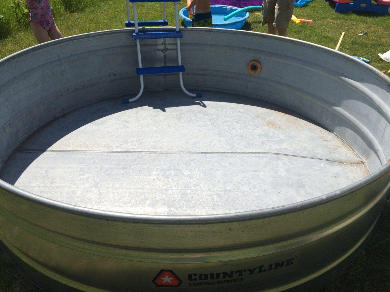 How To Make A Stock Tank Pool Stock Tank Pool Stock