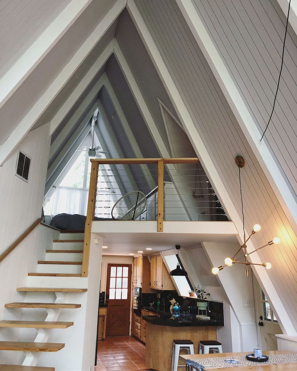 Home Design Ideas For Small Houses: 70 Clever Loft Stair For Tiny House Ideas