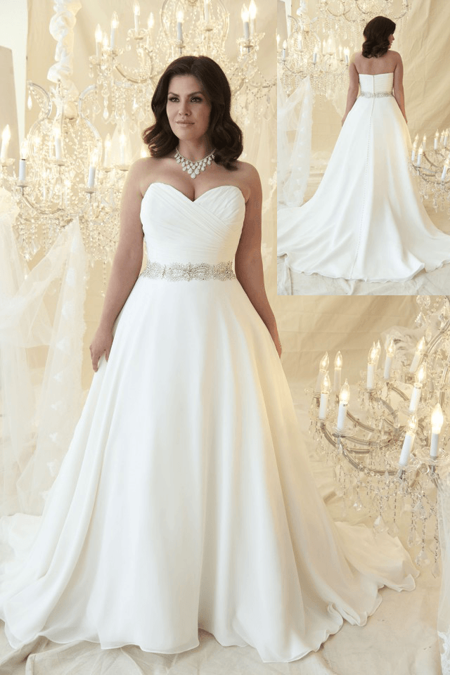 Plus Size Wedding Dress Plus Size Callista Bridal Hair For