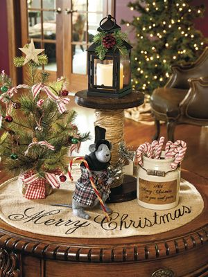 Country Sampler Holiday Cheer Country Sampler Rustic