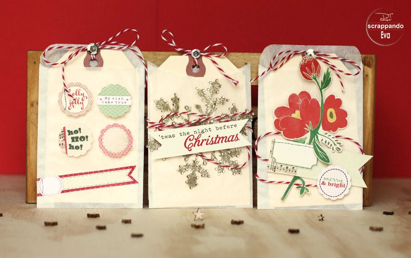 Christmas Cards, Projects e Tags