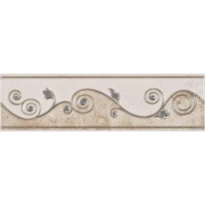 Listellos And Decorative Tile Eliane Melbourne Sand 3 Inx 8 Inceramic Listello Wall Tile