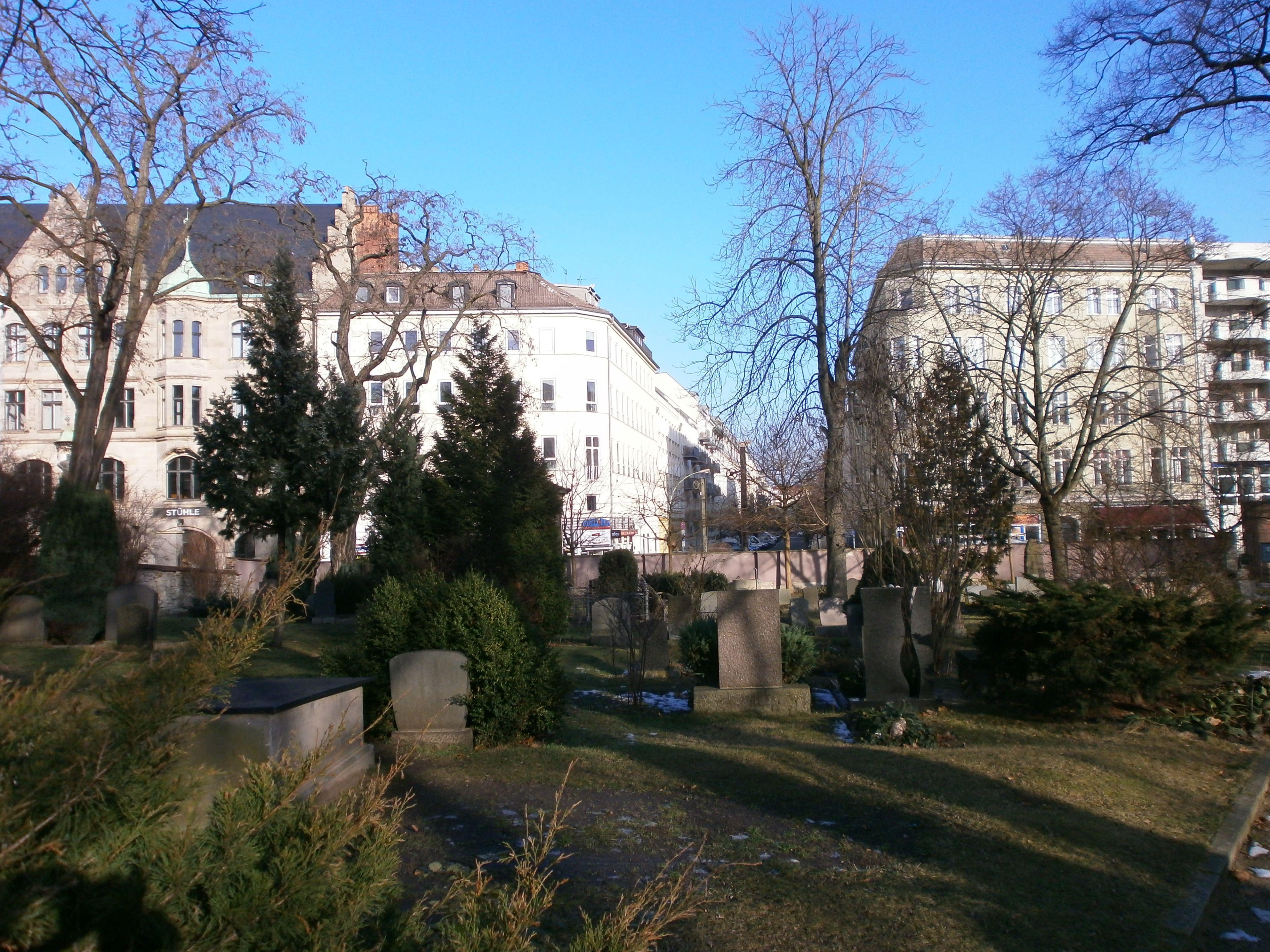 Dorotheenstädt. Friedhof Berlin-Mitte