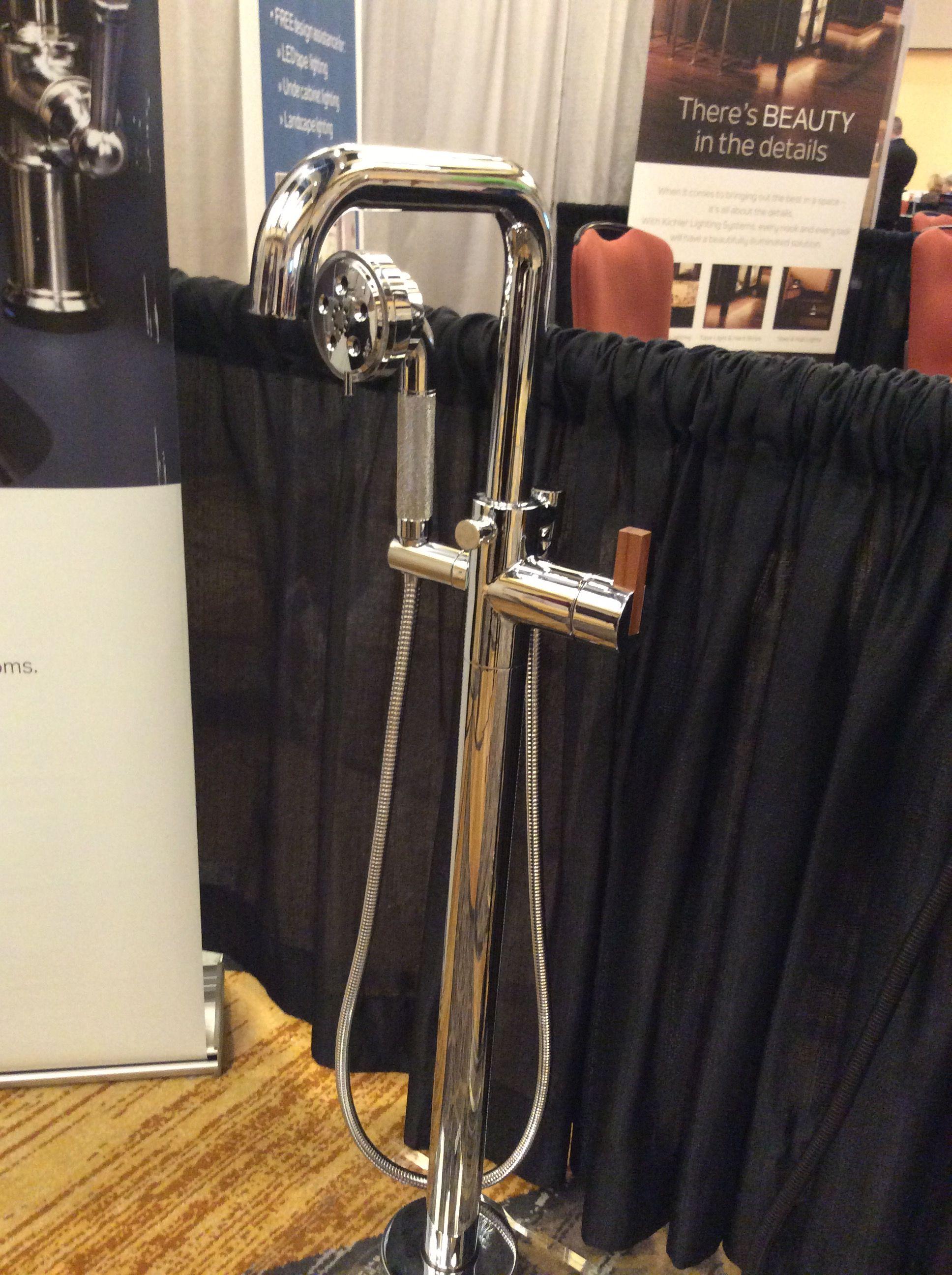 Brizo Litze Freestanding Tub Filler With Teak Handle Brizo Freestanding Tub Filler Free Standing Tub