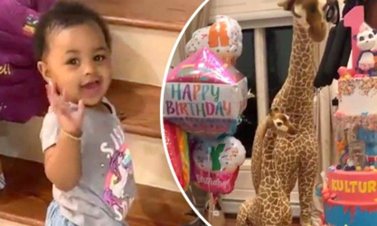Cardi B S Daughter Kulture Continues To Be Lavished For Birthday