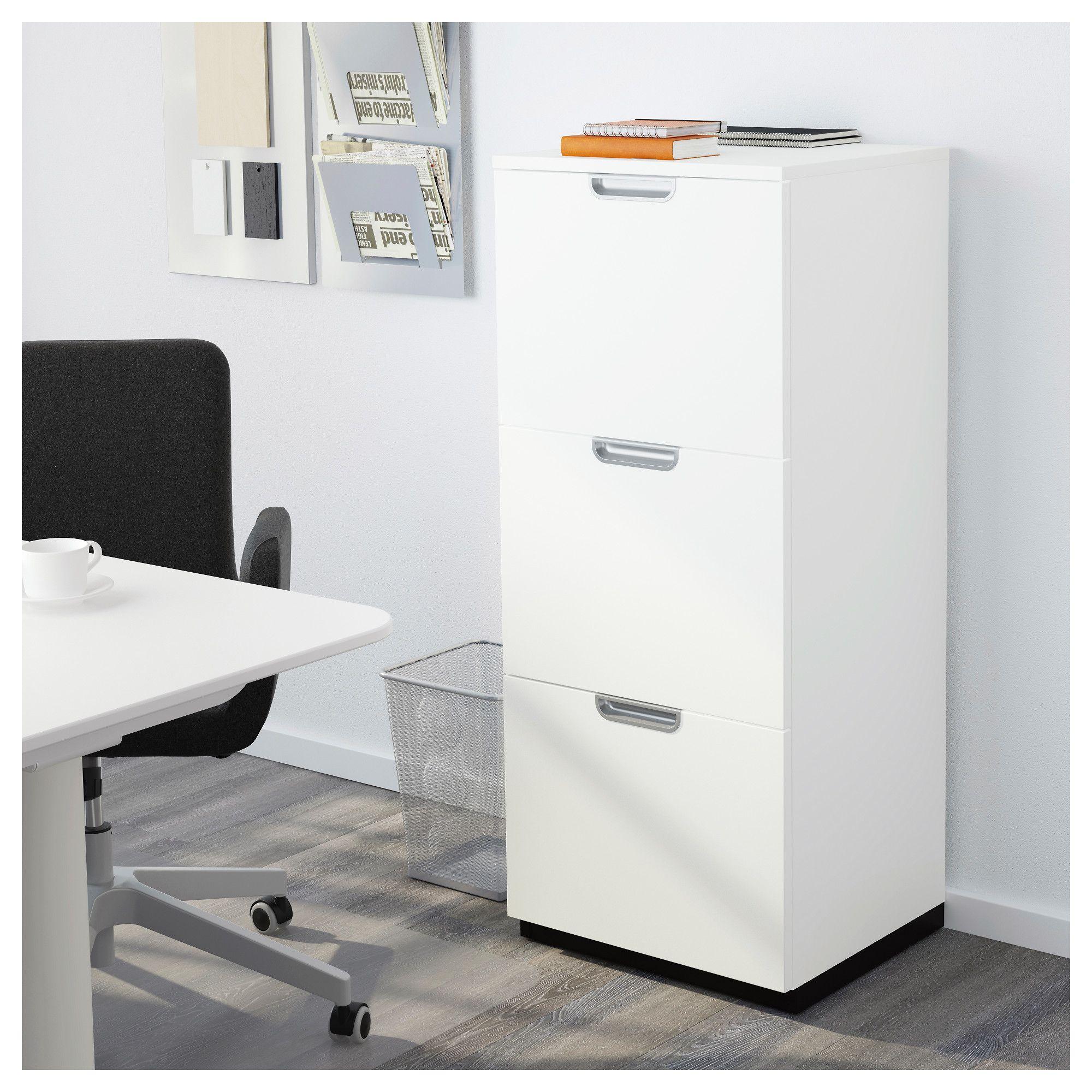 Wonderful GALANT File Cabinet, White