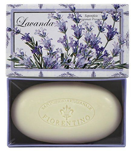Saponificio Artigianale Fiorentino Single 10.5 Oz. Soap Bar From Italy (Lavanda/Lavender)