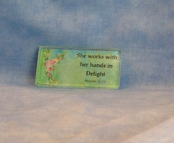 Needle Minder She works with her hands in by SweetAutumnStitch