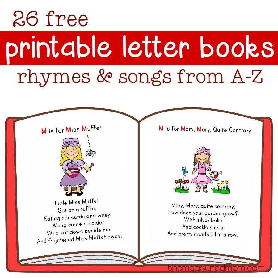 Little Letter Books The Measured Mom Book Letters Preschool Letters Alphabet Preschool [ 900 x 900 Pixel ]