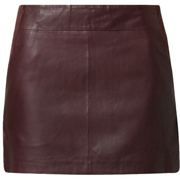 NAF NAF Leather skirt and other apparel, accessories and trends. Browse and shop 21 related looks.