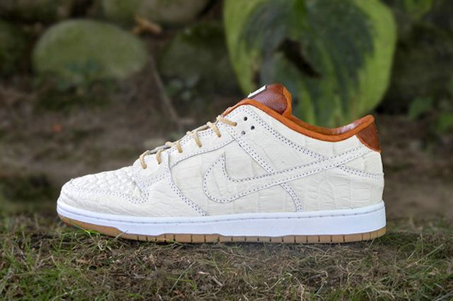 a90ae3f6 JBF CUSTOMS NIKE SB DUNK LOW (ALLIGATOR) | Just Kicks | All nike ...