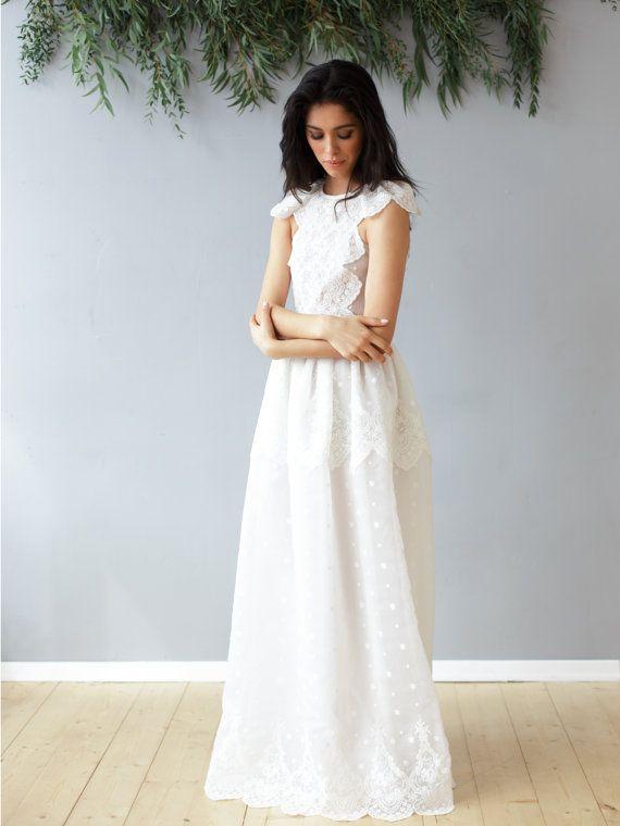 Dress SS16 | Pinterest | Langes brautkleid, Brautkleid mit Spitze ...
