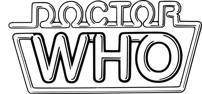 Doctor Who Doctor Who Logo Coloring Pages Doctor Who