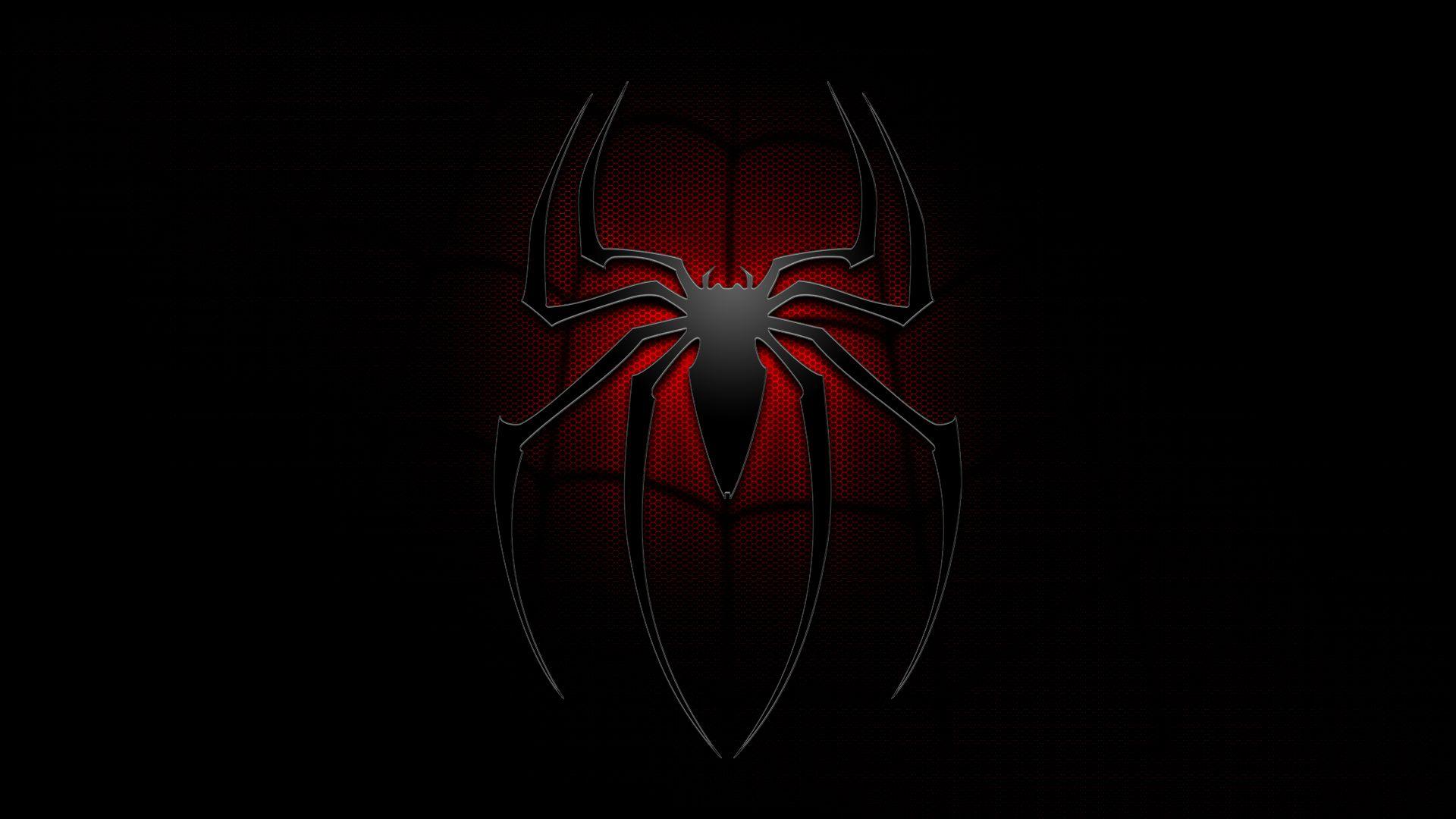 Image For Black Spiderman Logo Wallpaper Free Desktop