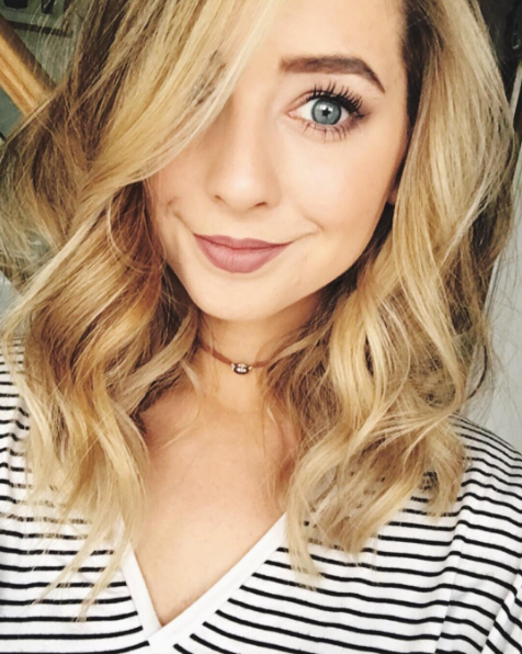 Zoella And Charlotte Crosby Surprise Fans With Throwback Pic - Hairstyles for short hair zoella