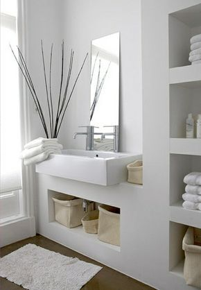 Moderne Badezimmer Ideen - coole Badezimmermöbel Pinterest - moderne badezimmermbel