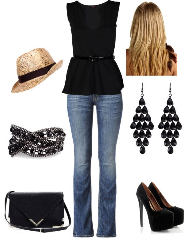 U0026quot;Concert Outfit 1u0026quot; - minus super high heels something a bit lower by oinocencio on Polyvore ...