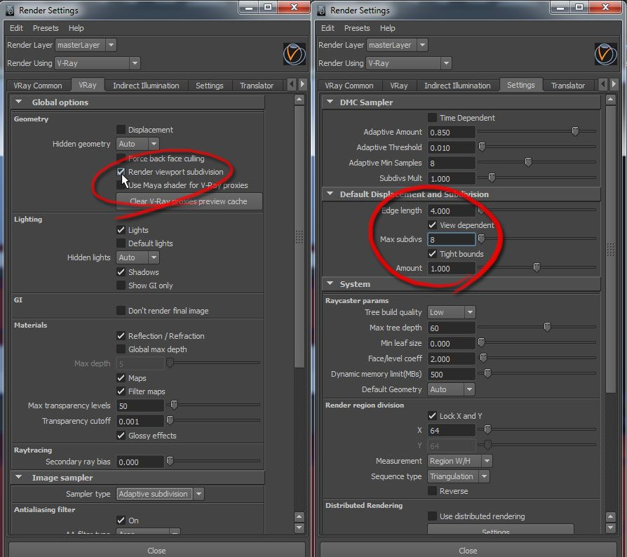 How To Use 3 Smooth Efficiently In Vray For Maya Vray