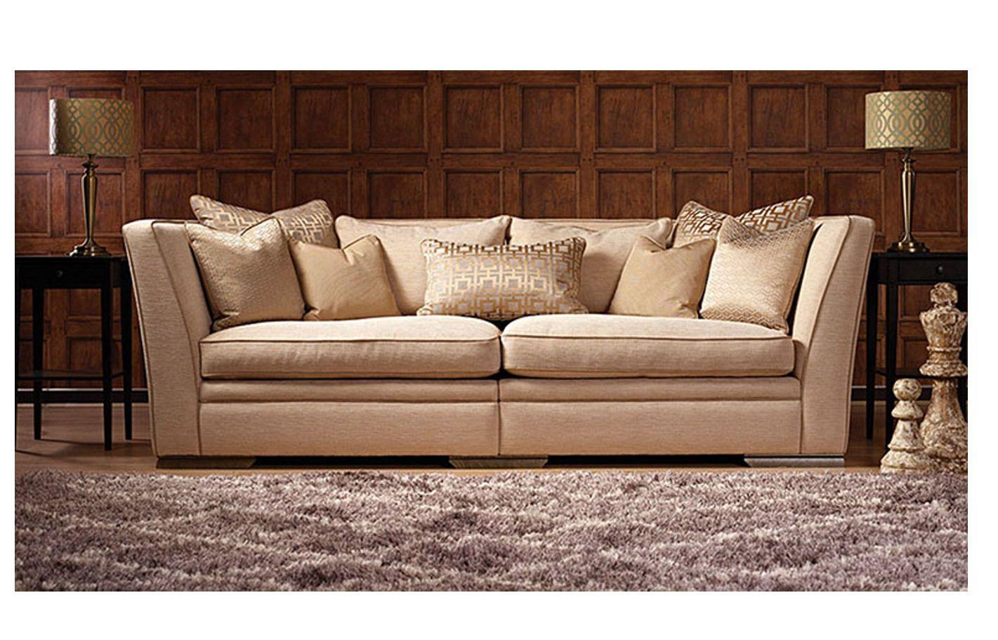 High Arm Large Pillow Back Split Sofa Luxury sofa, Sofa