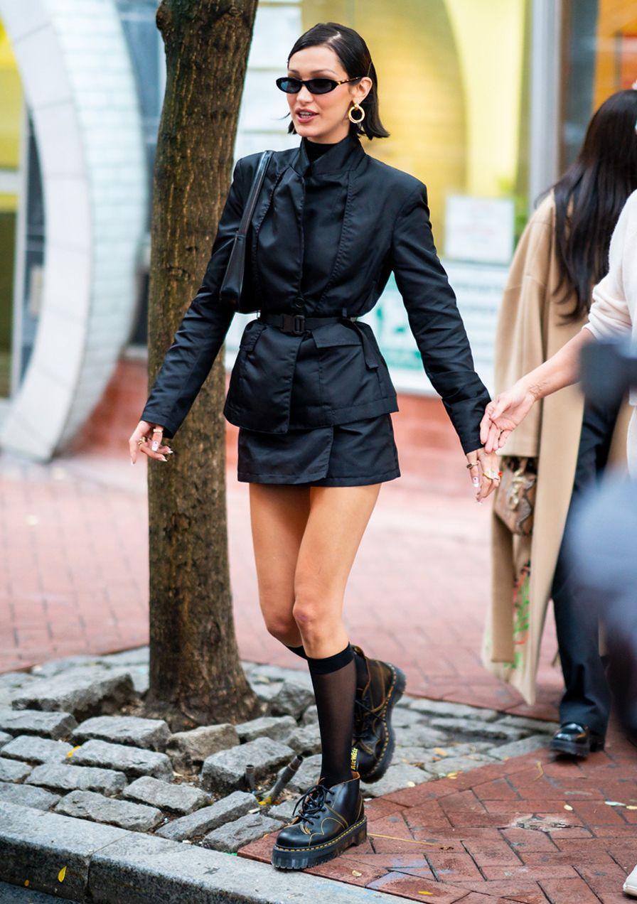 Legt dieser 90er-Modetrend ein Comeback hin? Bella Hadid trägt ihn schon