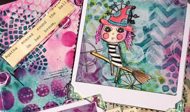 You You Hi folks it's the first of the month so that can only mean one thing.......Mixed Media Monthly Challenge new challenge!  This month...