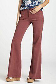 Level 99 Sierra Colored Wide-Legs