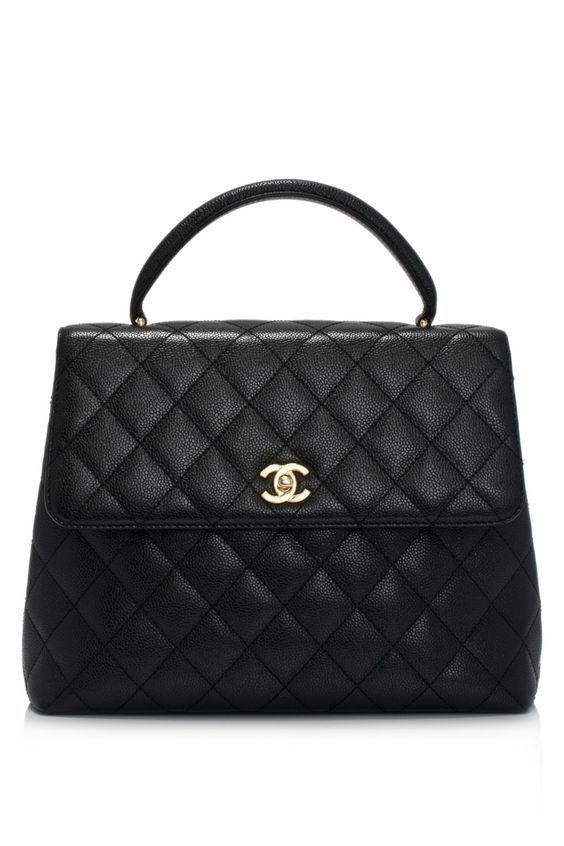 C Est Le Sac De Chanel Il Noir Et Plaine Mais Très Coûteux