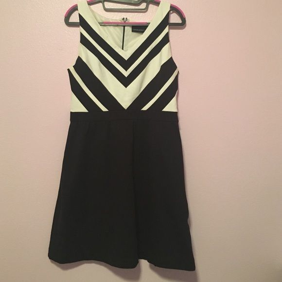 Cynthia Rowley Dress High Waist Formal But Super Cute Black And