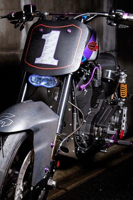 "Racing Cafè: Harley ""G1 Urban Racer GP"" by Warr's Custom"