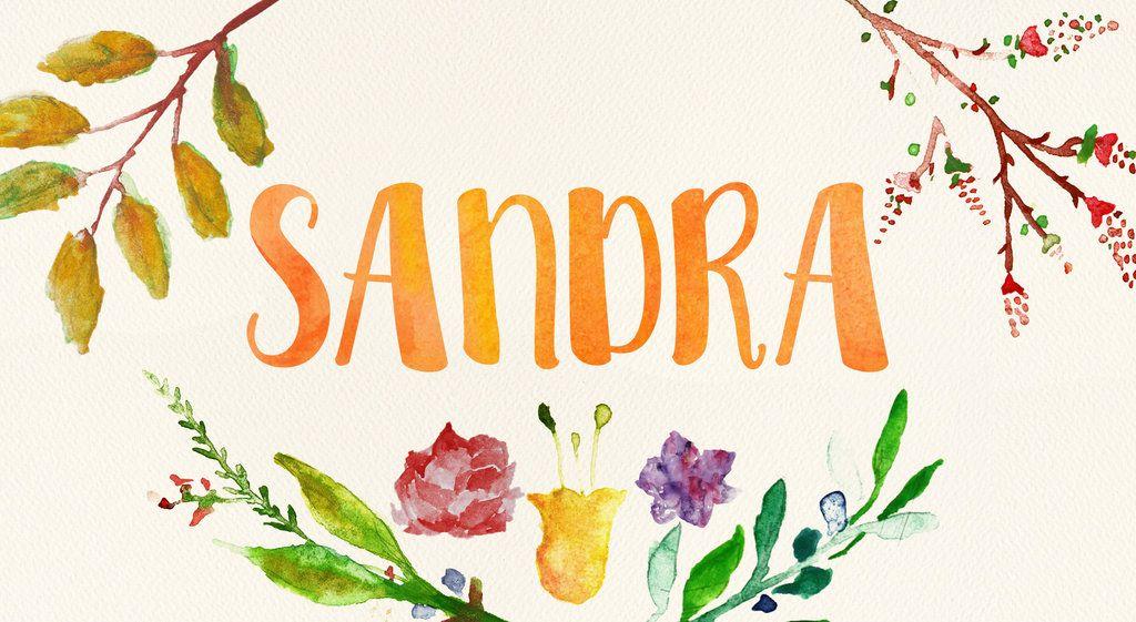 Watercolor Name Art By Littlemissfreak Disenos De Letras