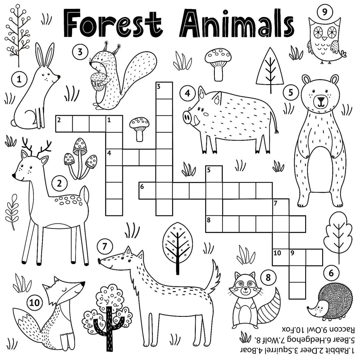 Crossword Puzzles For Kids Fun Free Printable Crossword Puzzle Coloring Page Activities For Children Printables 30seconds Mom Printable Puzzles For Kids Free Printable Crossword Puzzles Printable Crossword Puzzles [ 1200 x 1200 Pixel ]