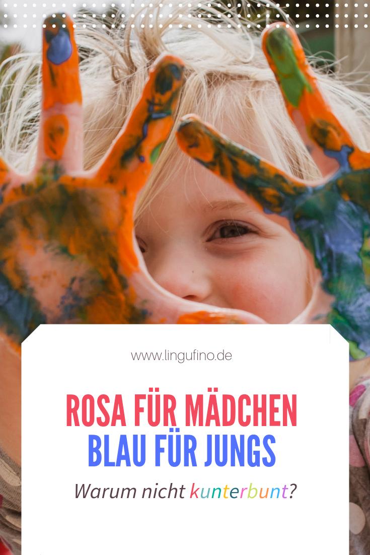 Rosa für Mädchen und Blau für Jungs - Warum nicht